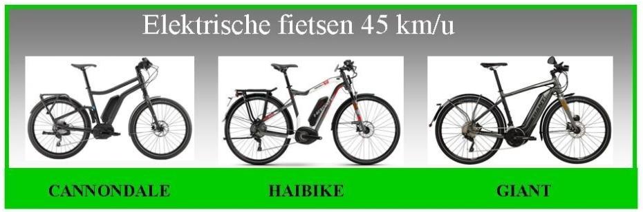 45km e-bikes